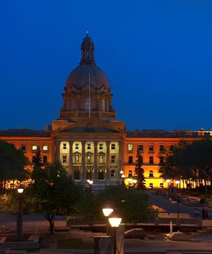 Edmonton Alberta Legislature Building