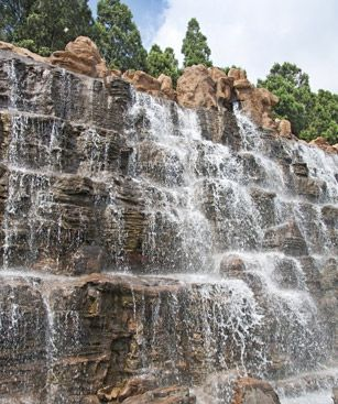 Qinhuangdao Artificial Waterfall