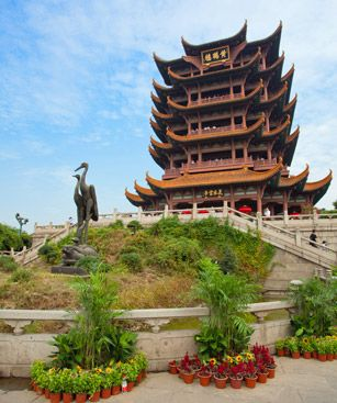 Wuhan Yellow Crane Tower Temple