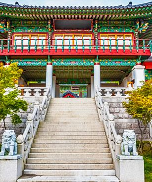 Daegu Temple Traditionnel
