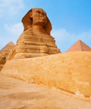 Le Caire Sphinx Gizeh