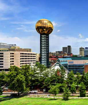 Knoxville Tour Sunsphere