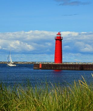 Muskegon Phare Rouge