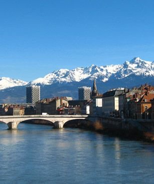 Grenoble Isere Riviere Montagne