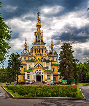 Almaty Cathedrale