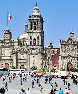 Mexico Cathedrale