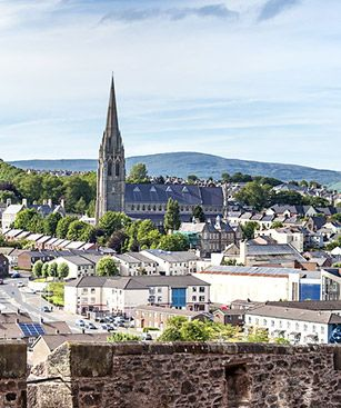 Derry Ville Panorama Paysage