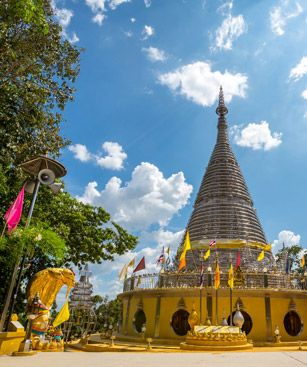 Hat Yai Stainless Steel Pagoda Thailand