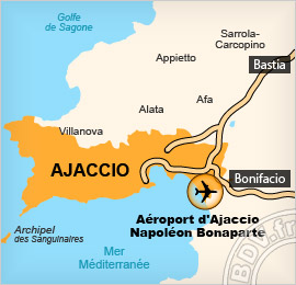 Plan de l'Aéroport de Campo Dell'Oro