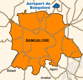 Plan de l'Aéroport international de Bangalore