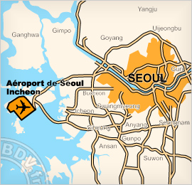Plan de l'Aéroport international d'Incheon