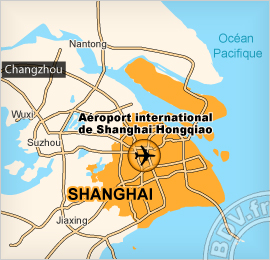 Plan de l'Aéroport international d'Hongqiao