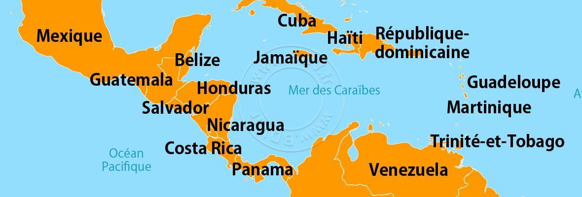 Vols Antilles et Caraïbes, billets d'avion Antilles et Caraïbes