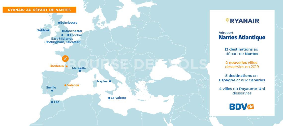 Carte Italie Aeroport Ryanair.Vols Ryanair Nantes Envolez Vous Avec Ryanair Au Depart De