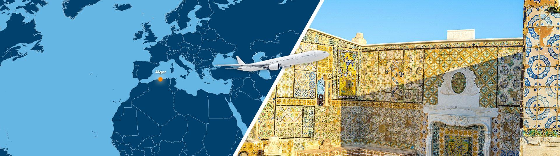 voyage algerie tunisie pas cher