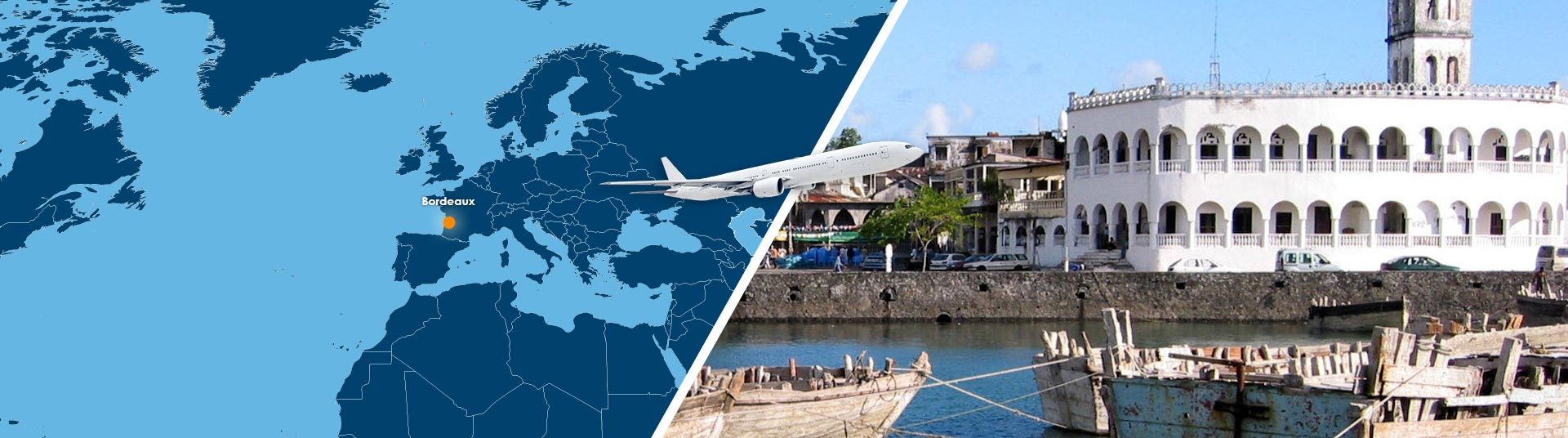 Vol Bordeaux Moroni