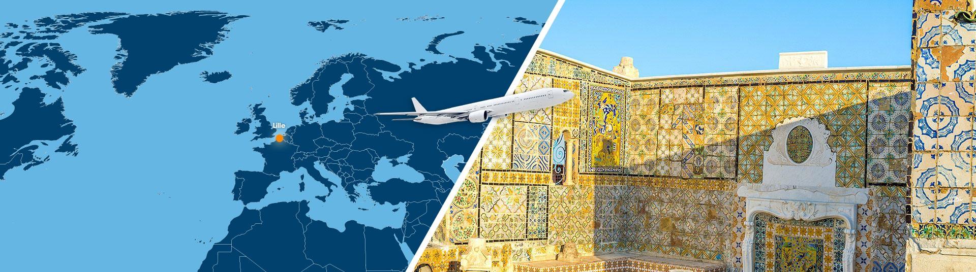 voyage tunisie depart lille