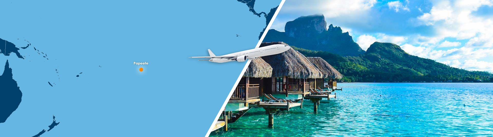 Vol papeete bora bora pas cher r server un billet avion for Reserver pas cher