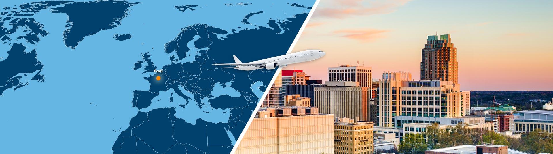 Billet avion Caroline du Nord - Bourse des Vols