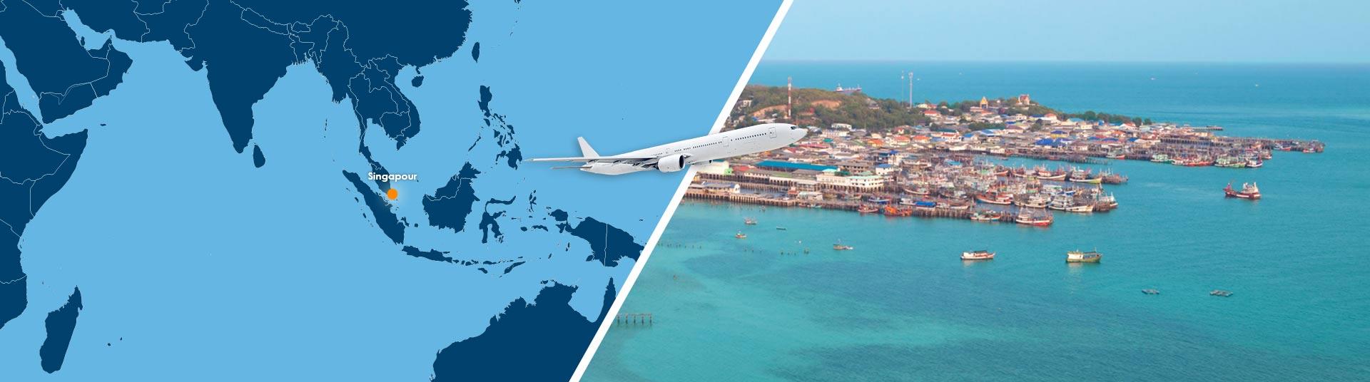 Vol singapour iloilo pas cher r server un billet avion for Vol interieur philippines