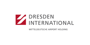 Logo de l'Aéroport International de Dresde