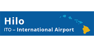 Logo de l'Aéroport International d'Ito Hilo