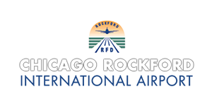 Logo de l'Aéroport international Chicago Rockford