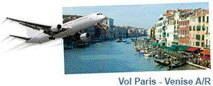Vol Paris Venise